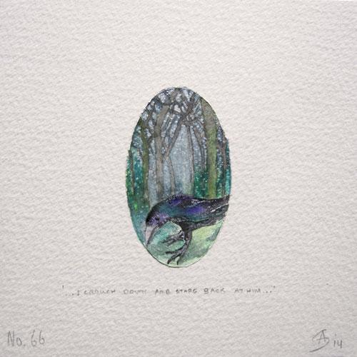 © Anita Salemink 2014. 100 Days | 100 paintings, No. 66  Watercolour 12.5 by 12.5 cm