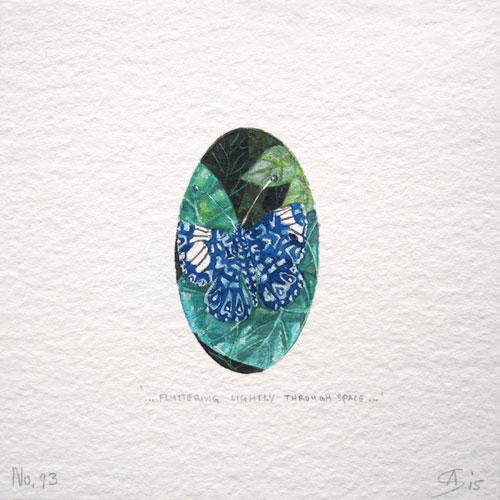 © Anita Salemink 2015. 100 Days | 100 paintings, No. 93 Watercolour 12.5 by 12.5 cm
