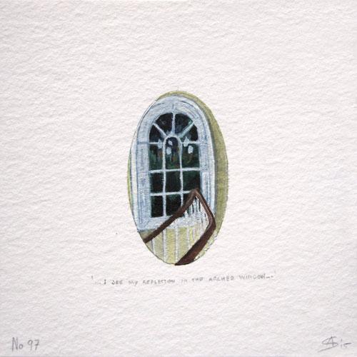 © Anita Salemink 2015. 100 Days | 100 paintings, No. 97 Watercolour 12.5 by 12.5 cm
