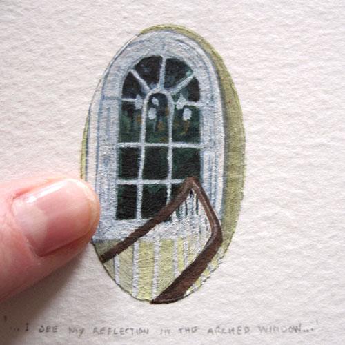 © Anita Salemink 2015. 100 Days | 100 paintings, No. 97 (detail)  Watercolour 12.5 by 12.5 cm