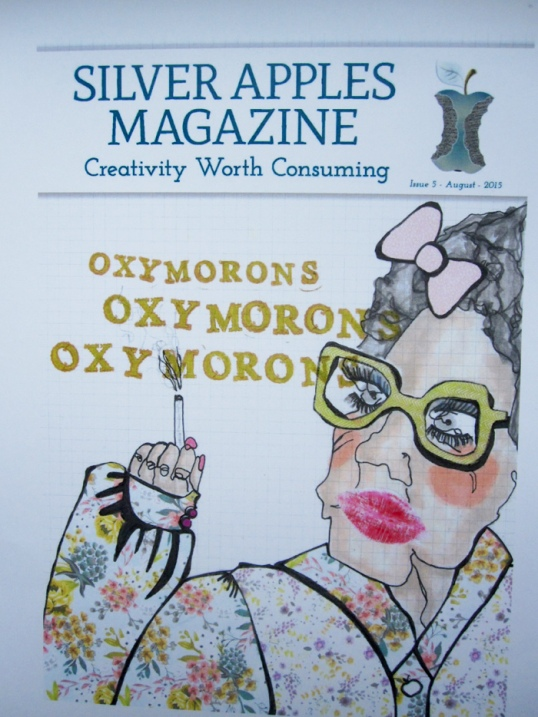 Cover of Silver Apples magazine No. 5, Oxymorons, 2015